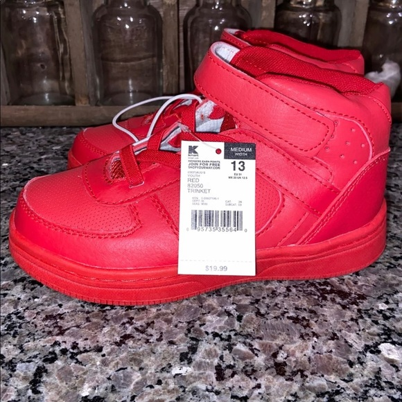 Athletech Other - Red Boys Sneakers size 13